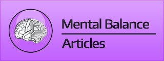 Mental Balance Articles