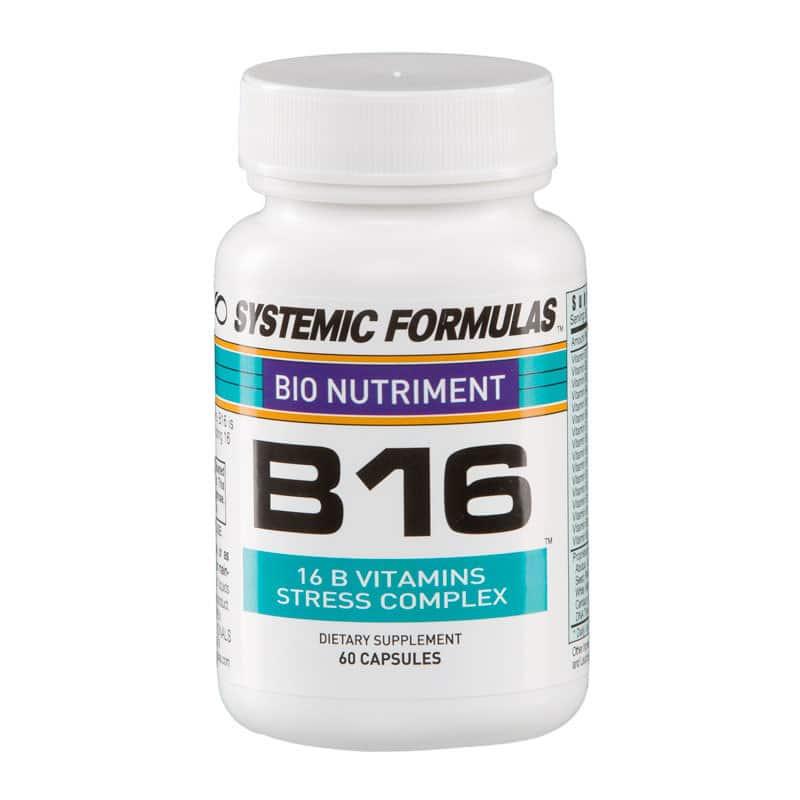 Systemic Formulas B16 Vitamin B Stress Complex